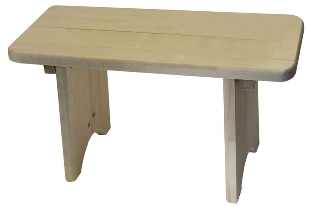 Скамеечка для бани и сауны Proffi Home, 40 х 17 22 см