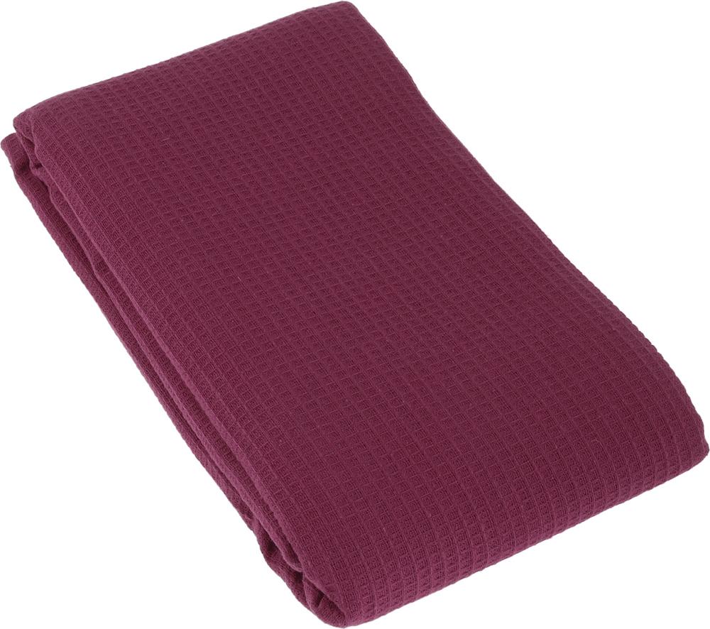 Полотенце-простыня для бани и сауны Банные штучки, цвет: бордовый, 80 х 150 см лавочка для бани и сауны банные штучки разборная