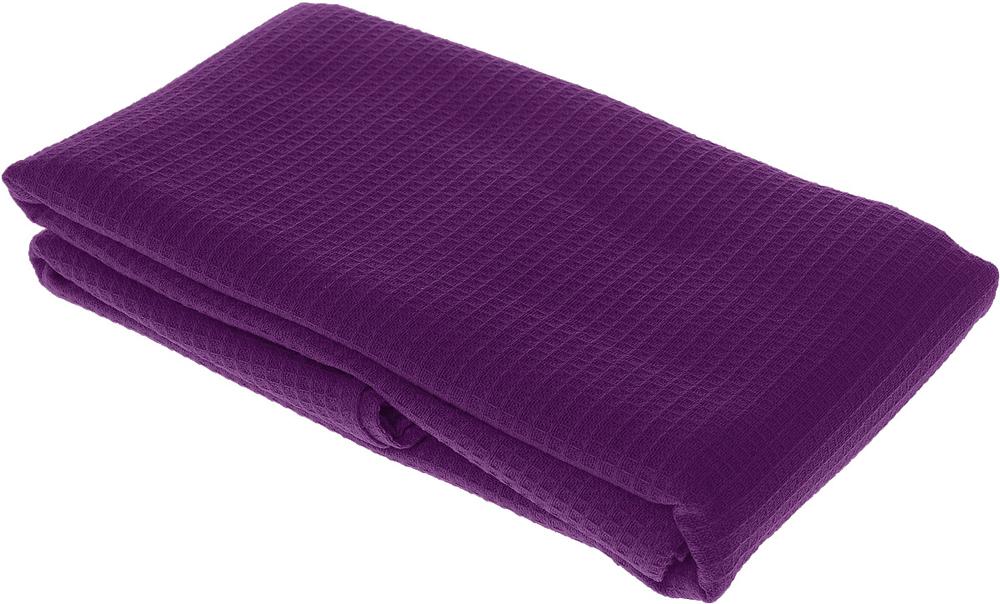 Полотенце-простыня для бани и сауны Банные штучки, цвет: фиолетовый, 80 х 150 см бани