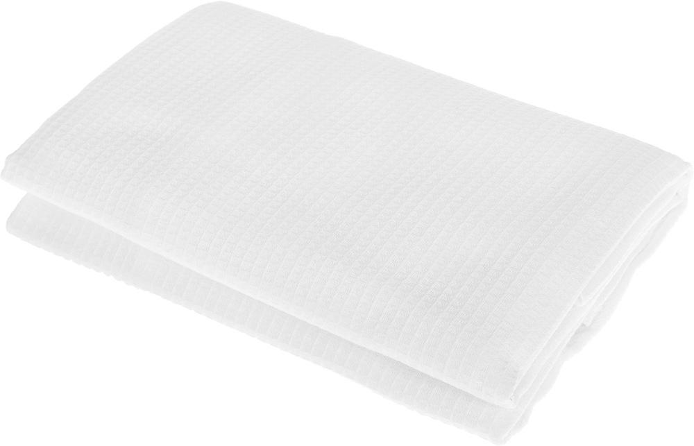 Полотенце-простыня для бани и сауны Банные штучки, цвет: белый, 80 х 150 см лавочка для бани и сауны банные штучки разборная