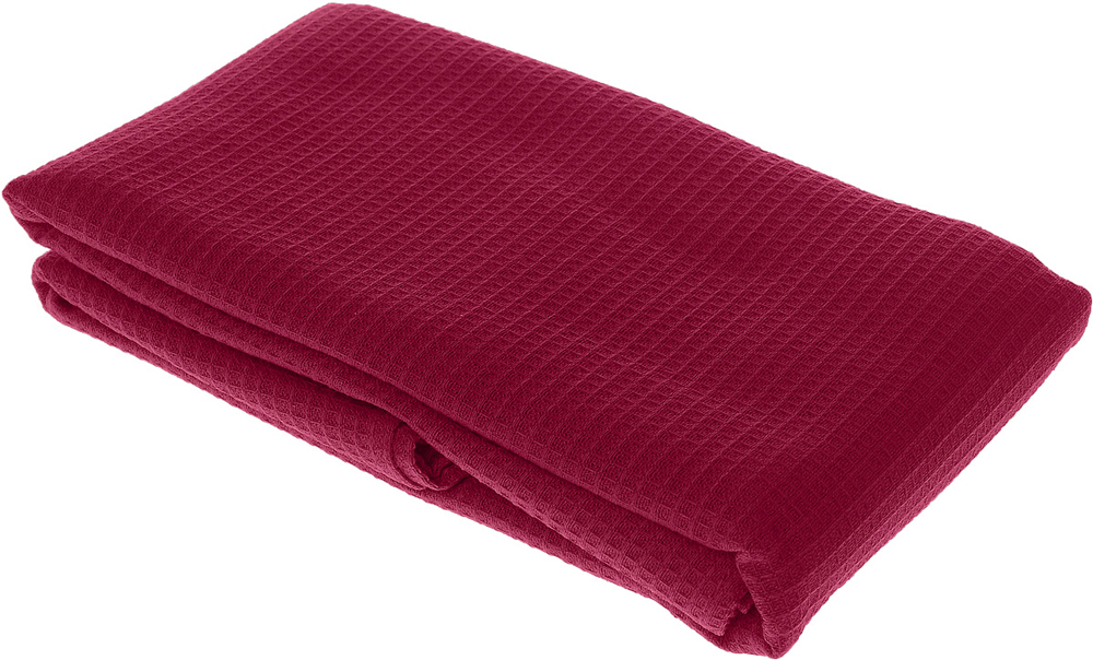 Полотенце-простыня для бани и сауны Банные штучки, цвет: малиновый, 80 х 150 см лавочка для бани и сауны банные штучки разборная