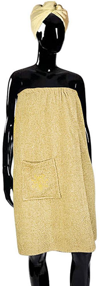 Набор для бани Soavita, цвет: бежевый, 2 предмета. 56840 печь для русской бани видео