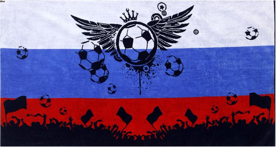Полотенце Soavita Premium. Футбол, 70 х 140 см полотенца soavita полотенце добби 50х70 см