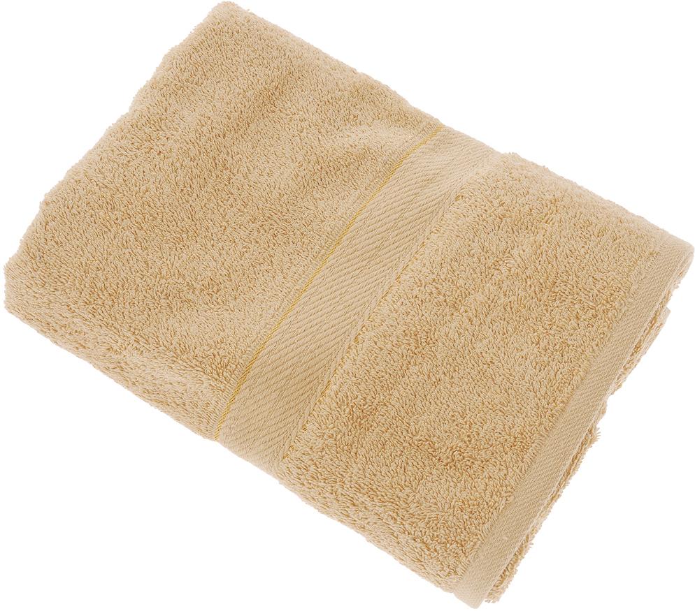 "Полотенце ""Aisha Home Textile"", цвет: коричневый, 70 х 140 см"