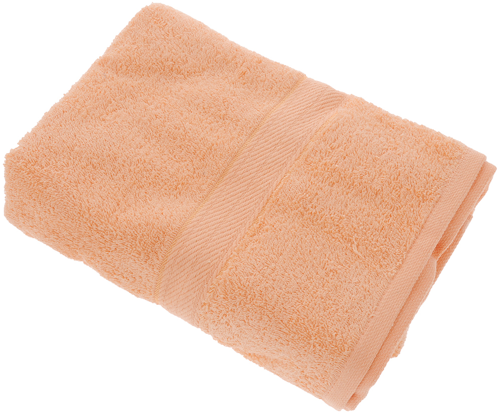 "Полотенце ""Aisha Home Textile"", цвет: бежевый, 70 х 140 см"