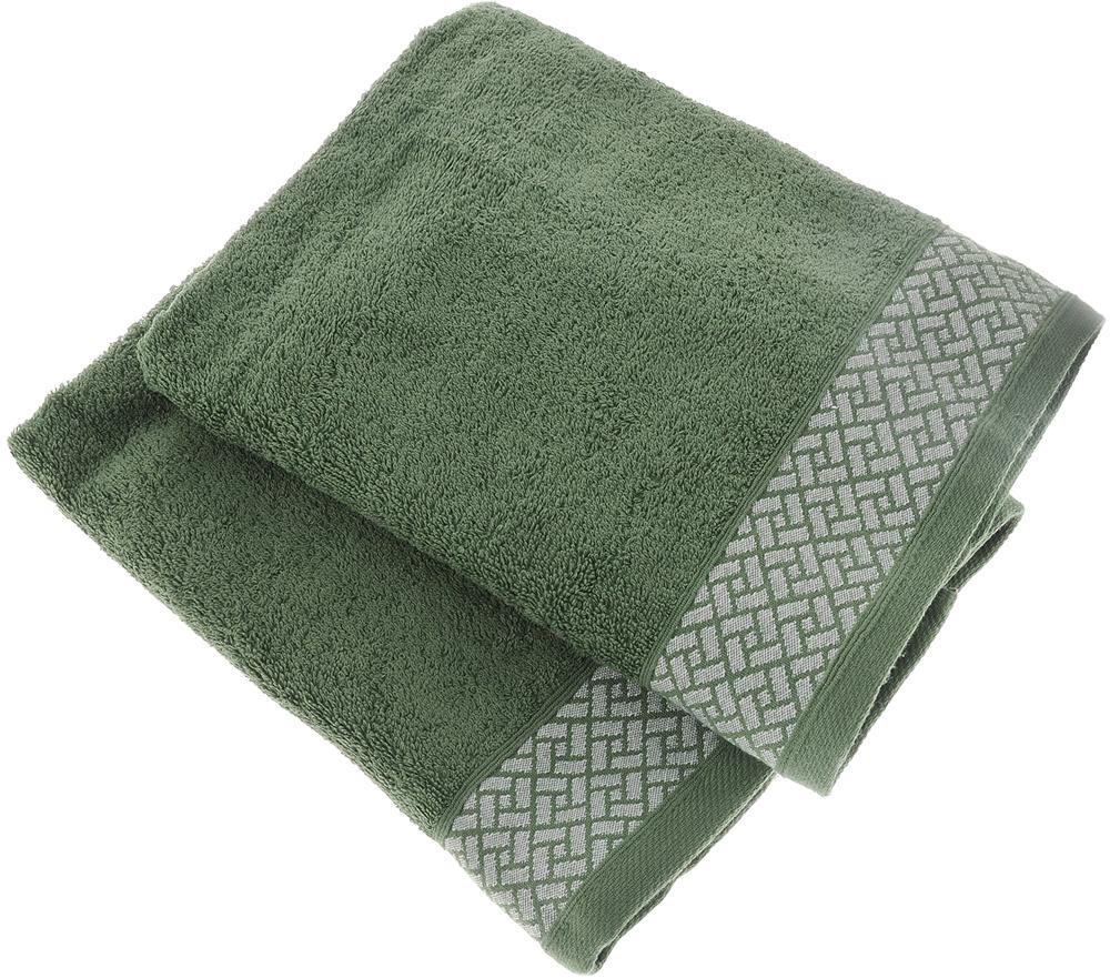 Фото - Набор полотенец Tete-a-Tete Лабиринт, цвет: зеленый, 2 шт. УНП-109-01к набор полотенец tete a tete лабиринт цвет зеленый 50 х 90 см 2 шт уп 009