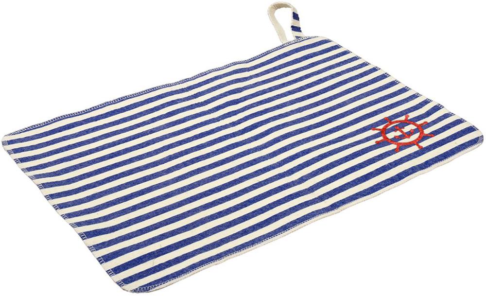 Коврик для бани и сауны Банные штучки Морской, 40 см х 30 см печь для бани и сауны термофор ангара 2012 inox антрацит со встроенным теплообменником