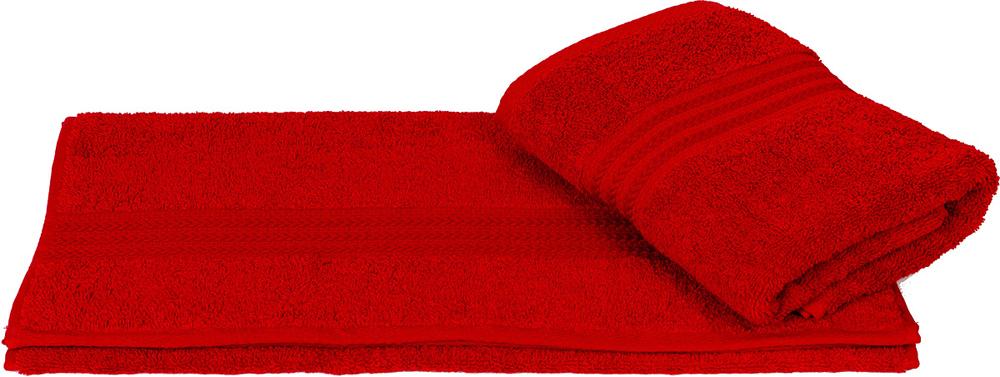 "Полотенце махровое Hobby Home Collection ""Rainbow"", цвет: красный, 70х140 см"