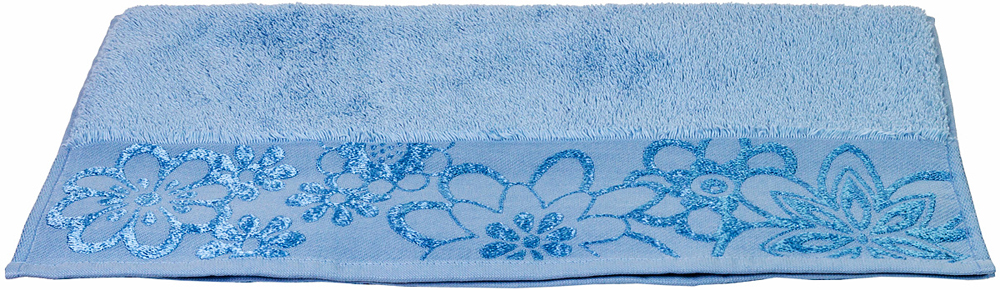 Полотенце Hobby Home Collection Dora, цвет: светло-голубой, 50 х 90 см1501000440Полотенце Hobby Home Collection Dora выполнено из 100% хлопка. Изделие отлично впитывает влагу, быстро сохнет, сохраняет яркость цвета и не теряет форму даже после многократных стирок. Такое полотенце очень практично и неприхотливо в уходе. А простой, но стильный дизайн полотенца позволит ему вписаться даже в классический интерьер ванной комнаты.