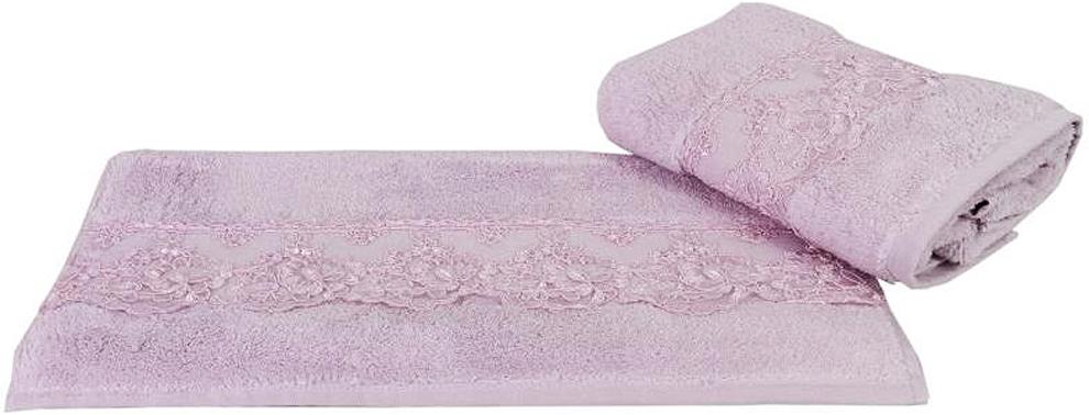 """Полотенце махровое Hobby Home Collection """"Sidelya"""", цвет: лиловый, 50х90 см"""