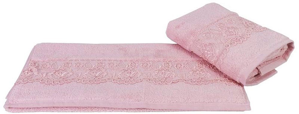 """Полотенце махровое Hobby Home Collection """"Sidelya"""", цвет: розовый, 50х90 см"""
