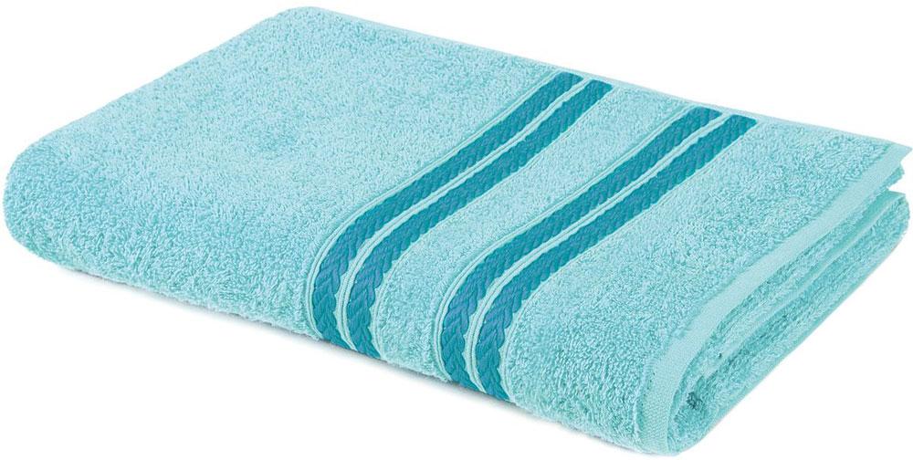 Полотенце Aquarelle Адриатика, цвет: аква, 50 х 90 см полотенце aquarelle адриатика цвет синий 50 х 90 см 702470