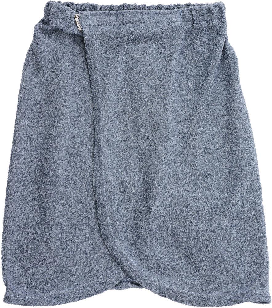 Килт для бани детский Юный банщик, цвет: серый, 41 х 60 см килт для бани soavita цвет серый 60 х 140 см