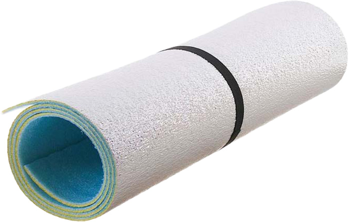 Коврик туристический фольгированный, 180 х 60 х 0,8 см коврик туристический isolon оptima large s10 op 10 lg nn 506 00 зеленый 180 х 60 см