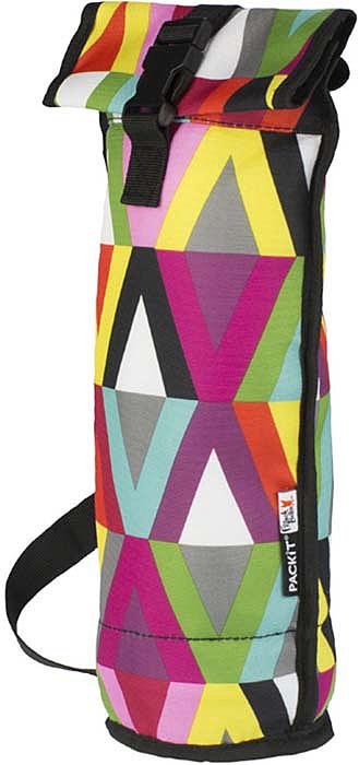 Сумка-холодильник для бутылок Packit Wine Bag, цвет: разноцветный, 1 л