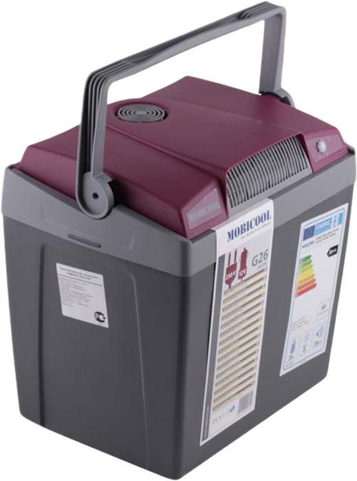 MOBICOOL G26 мобильный холодильник 26 л, Gray Red