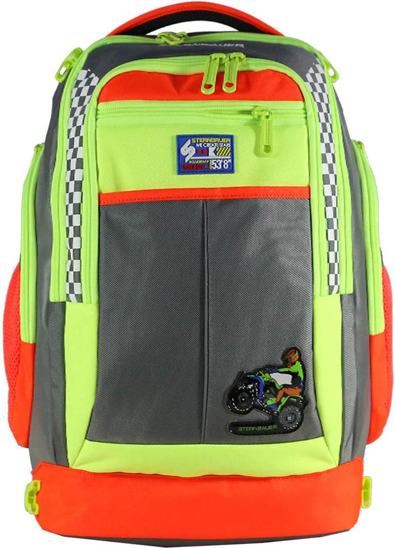 Sternbauer Рюкзак школьный SB с мешком для обуви цвет мультиколор 7314