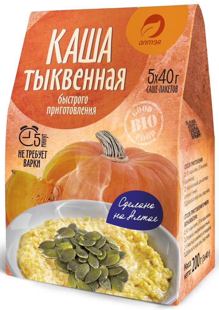 Алтэя Каша тыквенная в саше-пакетах, 5 х 40 г nordic хлопья пшенные 350 г