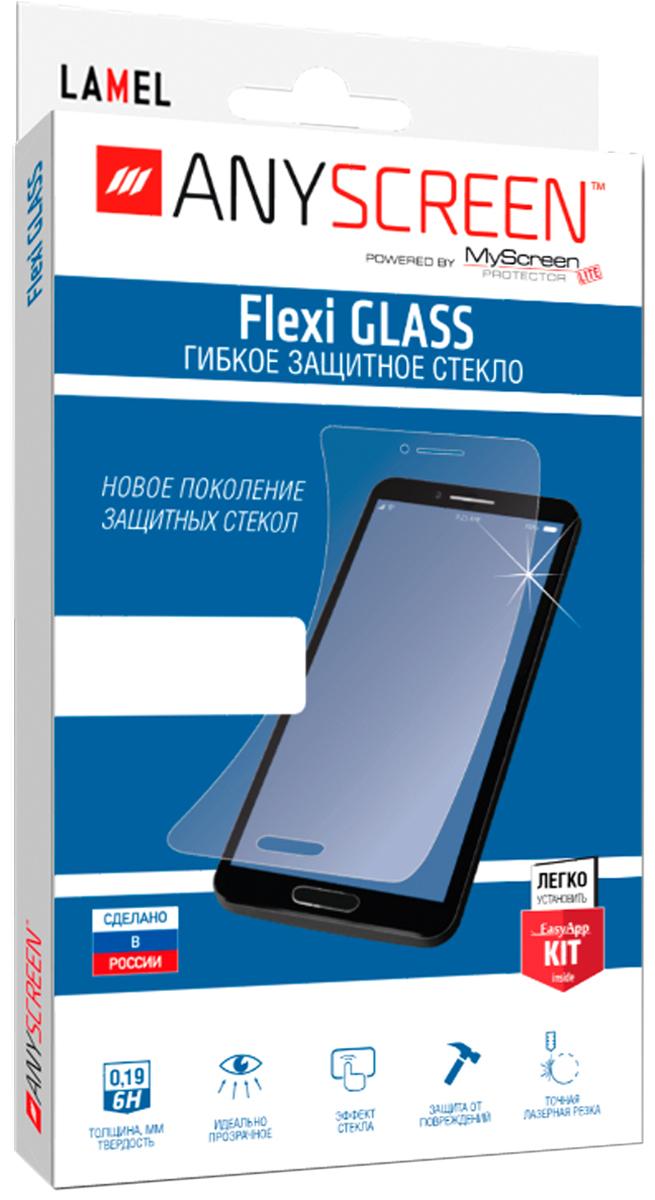Фото - AnyScreen Flexi Glass защитное стекло универсальное для смартфонов 4.7, Transparent защитное стекло anyscreen для samsung galaxy tab a 7 0 гибкое прозрачное