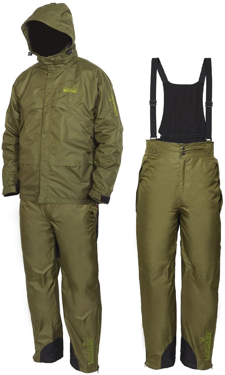 Костюм рыболовный Norfin51510Водонепроницаемый дышащий костюм Norfin Shell 2, изготовленный из особо качественного материала Nortex Breathable, обеспечит комфортную рыбалку в различных погодных условиях. Куртка: два боковых кармана, капюшон, складываемый на двух уровнях, удлиненная спинная часть, стяжной низ куртки, стяжные манжеты, сетчатая подкладка. Брюки: эластичный пояс, два боковых кармана, нейлоновая подкладка, регулируемые, съемные помочи. Рекомендуем!