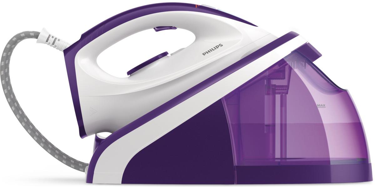 Philips HI5914/30, White Purple парогенератор цена и фото
