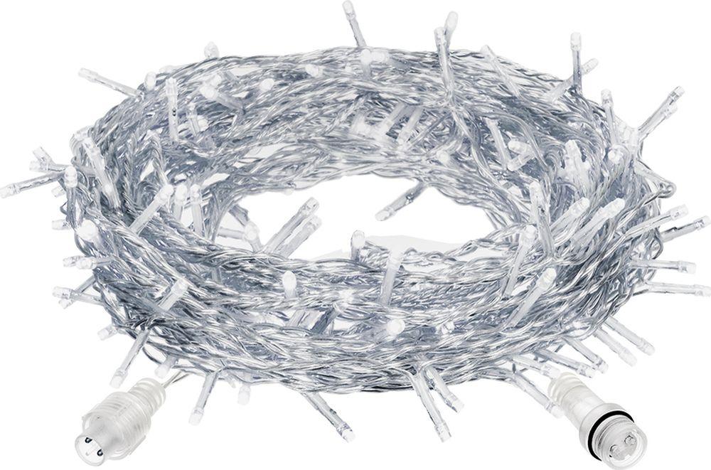 Гирлянда-конструктор электрическая Vegas Занавес, 192 лампы, длина 4 м, свет: холодный. 55025 электрическая гирлянда actuel 192ламп холодный белый 8режимов 8м