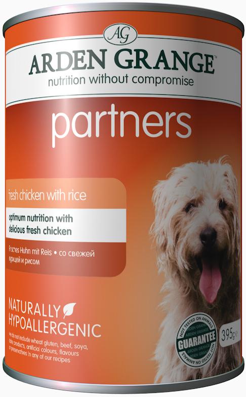 """Консервы для собак """"Arden Grange"""", с курицей и рисом, 0,395 кг"""