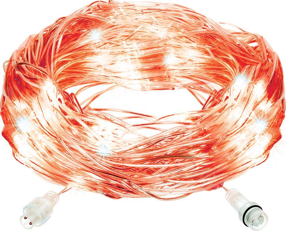 """Гирлянда-конструктор электрическая Vegas """"Сеть"""", 144 лампы, свет: красный, 1,2 х 1,5 м"""
