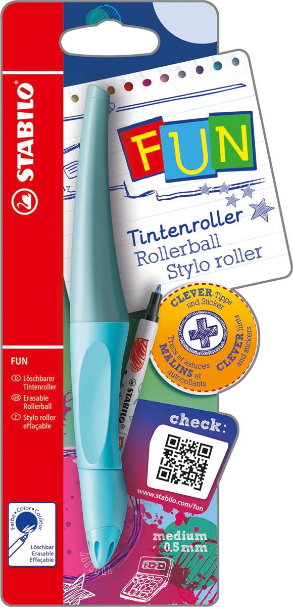 STABILO Роллер Fun синий, цвет корпуса: голубой
