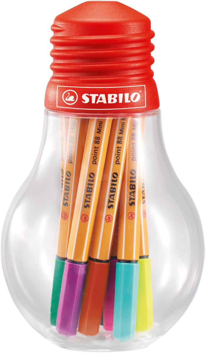 STABILO Набор капиллярных ручек point 88 12 цветов