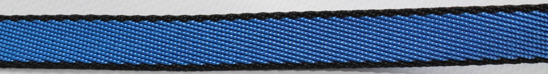 Поводок для собак Happy Friends, цвет: синий, ширина 1 см, длина 1,20 м поводок для собак happy house luxury цвет темно коричневый длина 125 см