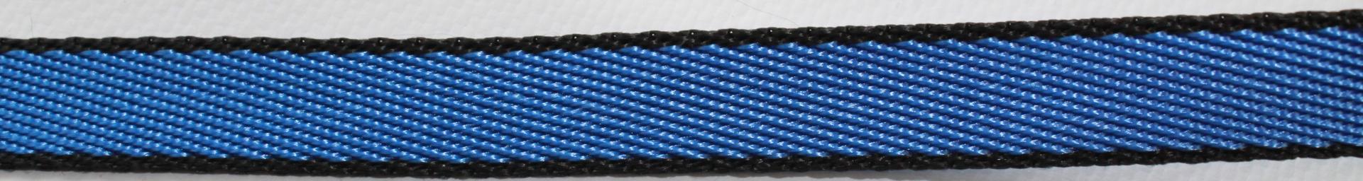 Поводок для собак Happy Friends, цвет: синий, ширина 1 см, длина 2 м поводок для собак happy house luxury цвет темно коричневый длина 125 см