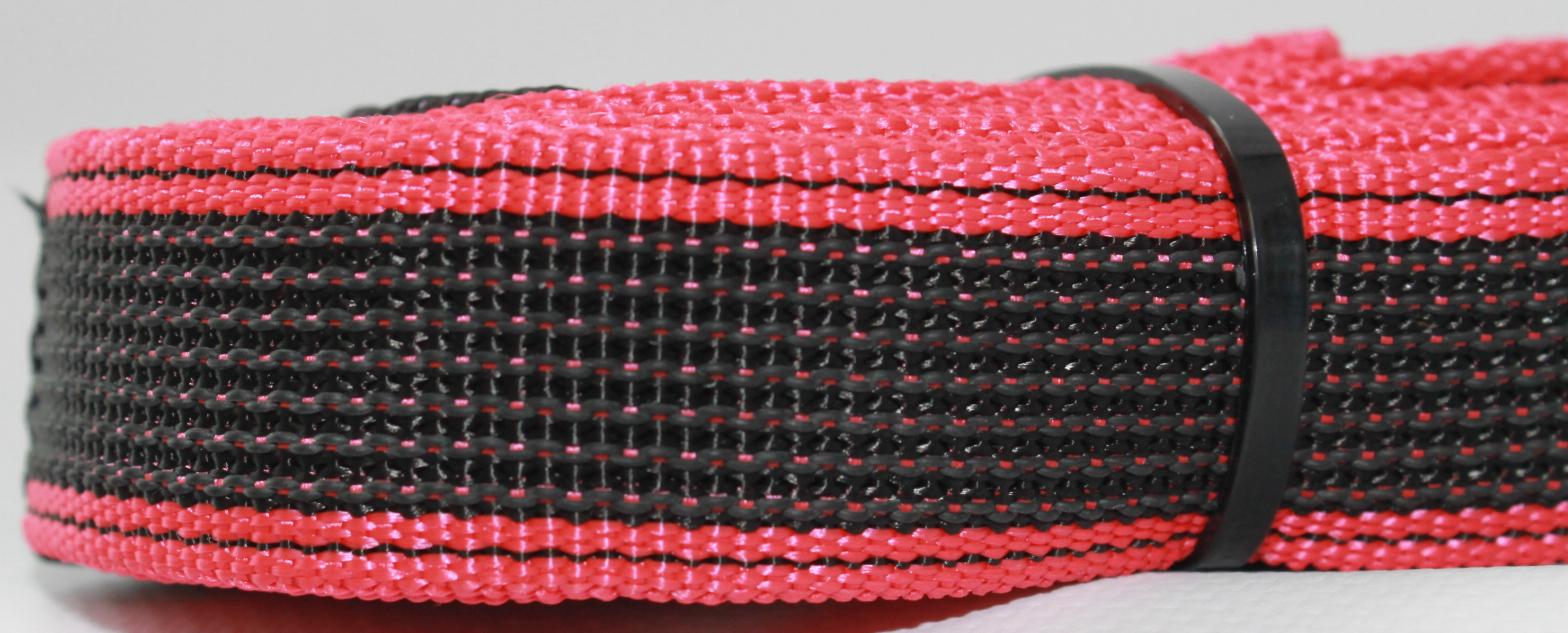 """Поводок-водилка для собак """"Happy Friends"""", нескользящий, цвет: красный, ширина 2,5 см, длина 0,40 м"""