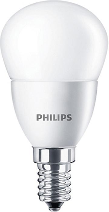 "Лампа светодиодная Philips ""CorePro LEDluster"", цоколь E14, 4W, 2700K"