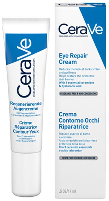 CeraVeВосстанавливающий крем для области вокруг глаз, для всех типов кожи, 14 мл CeraVe