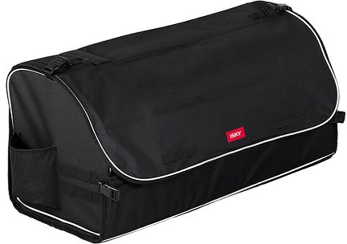 Органайзер с крышкой в багажник iSky, полиэстер, цвет: черный, 70 x 32 x 29 см органайзер с крышкой в багажник isky полиэстер цвет черный 51 x 31 х 31 см