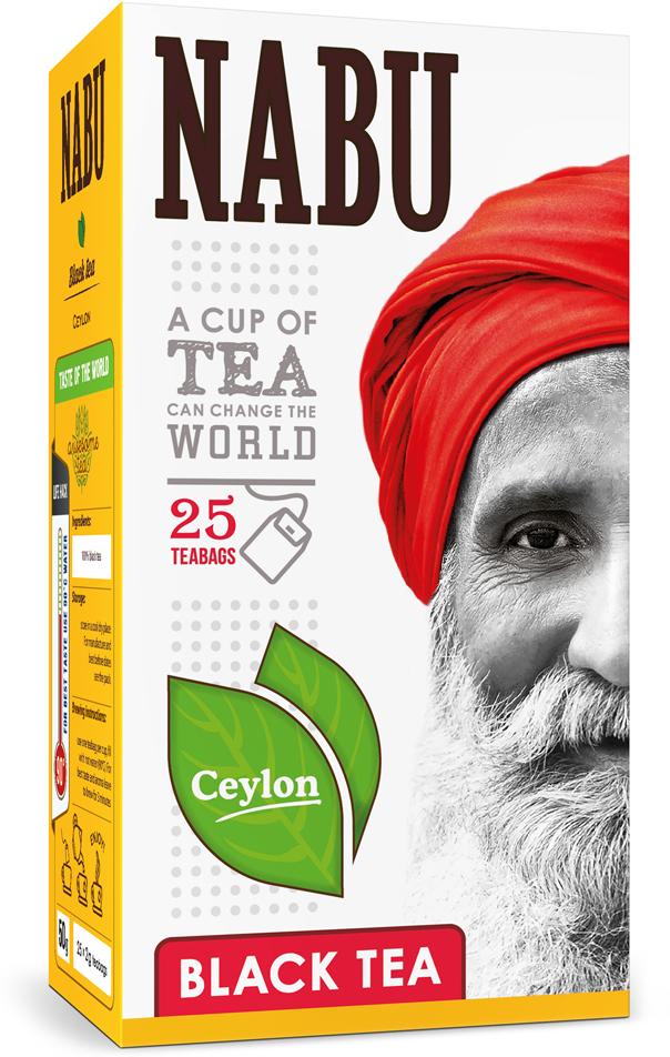 Nabu Black Tea Ceylon чай черный в пакетиках, 25 шт 2015 arrival vacuum pack lapsang souchong canton village black tea 500g ceylon assam premium selection count special pearl milk