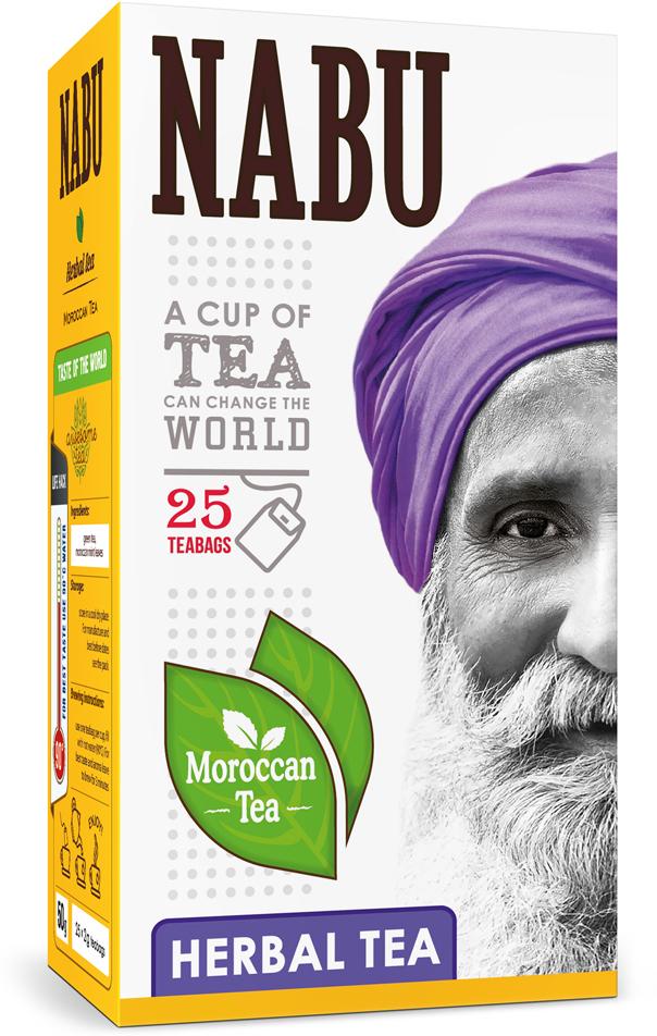 Nabu Green Tea Nabu Moroccan Tea with mint чай зеленый с мятой в пакетиках, 25 шт цена