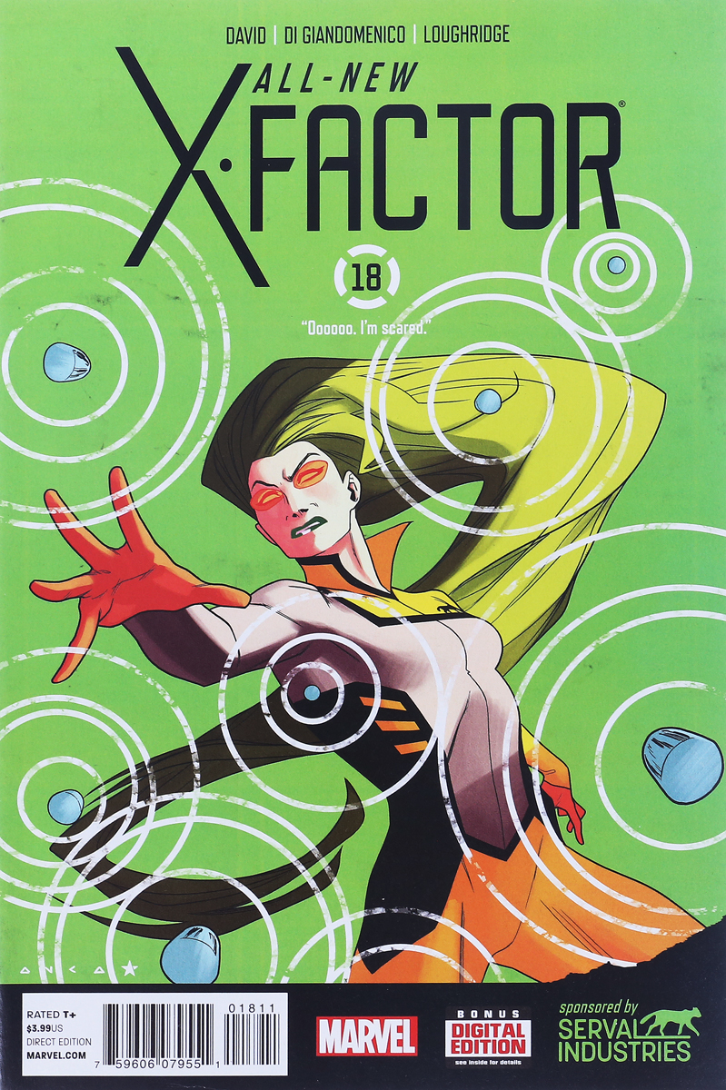 Peter David, Carmine Di Giandomenico, Lee Loughridge All-New X-Factor #18