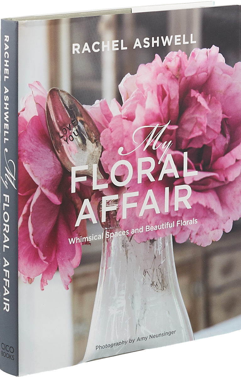 Rachel Ashwell: My Floral Affair: Whimsical Spaces and Beautiful Florals small fresh and simple girl room dreamcatcher hanging decoration