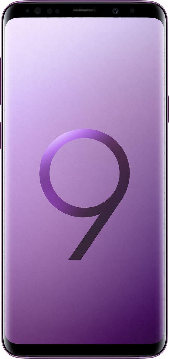 Смартфон Samsung Galaxy S9+ 64 GB, Ультрафиолет