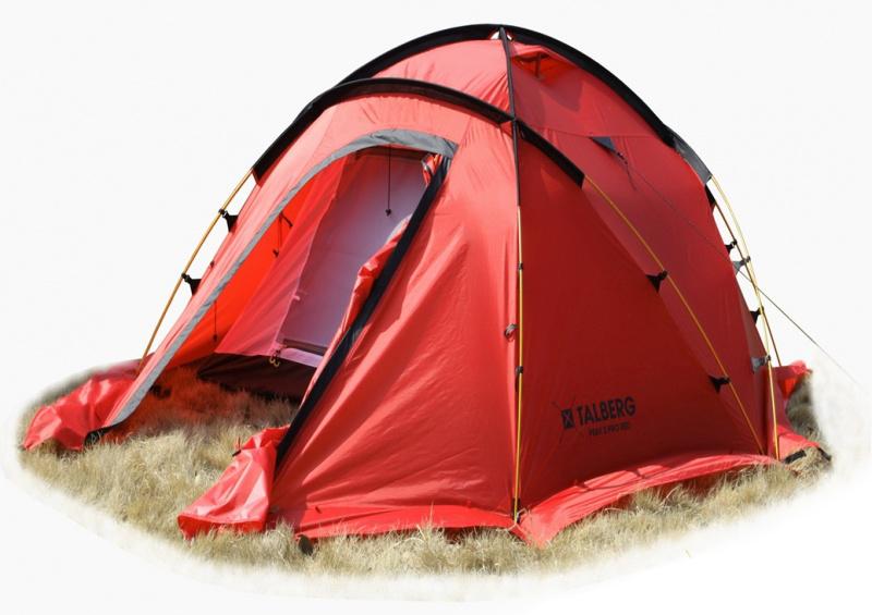 """Палатка Talberg """"Peak Pro 3 R"""", цвет: красный"""