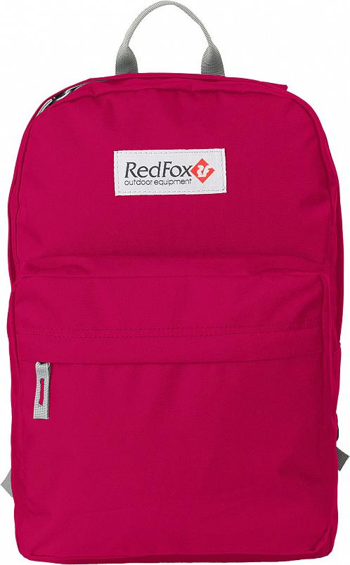 Рюкзак детский городской Red Fox Bookbag M1, цвет: бордовый, 25 л red fox рюкзак compact 17