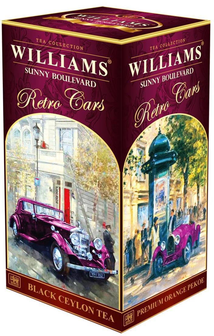 Williams Sunny Boulevard Солнечный Бульвар чай черный листовой, 200 г чай rioba черный солнечный персик