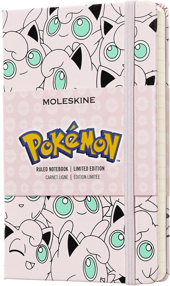 Moleskine Блокнот Pokemon Limited Edition Jigglypuff 9 x 14 см 96 листов в линейку цвет разноцветный