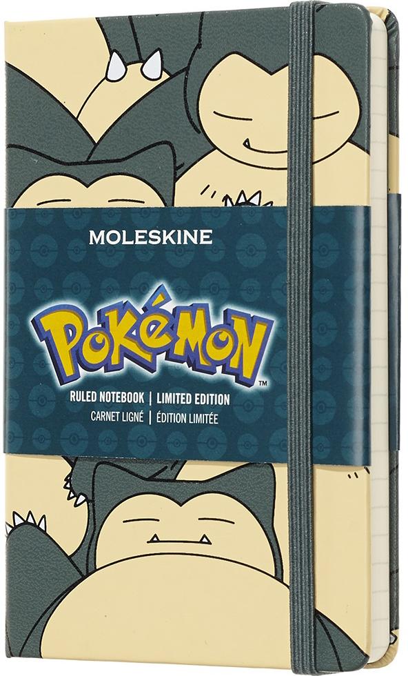 Moleskine Блокнот Pokemon Limited Edition Snorlax 9 x 14 см 96 листов нелинованный цвет разноцветный