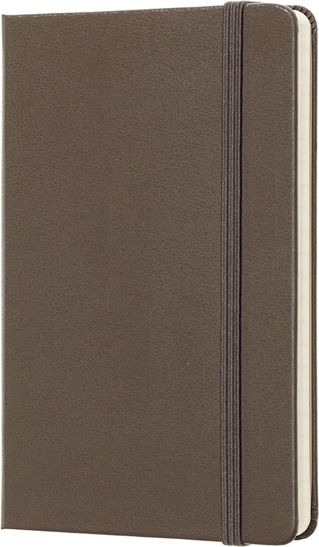 Moleskine Блокнот Classic Pocket 9 x 14 см 96 листов в линейку цвет коричневый Уцененный товар (№5)