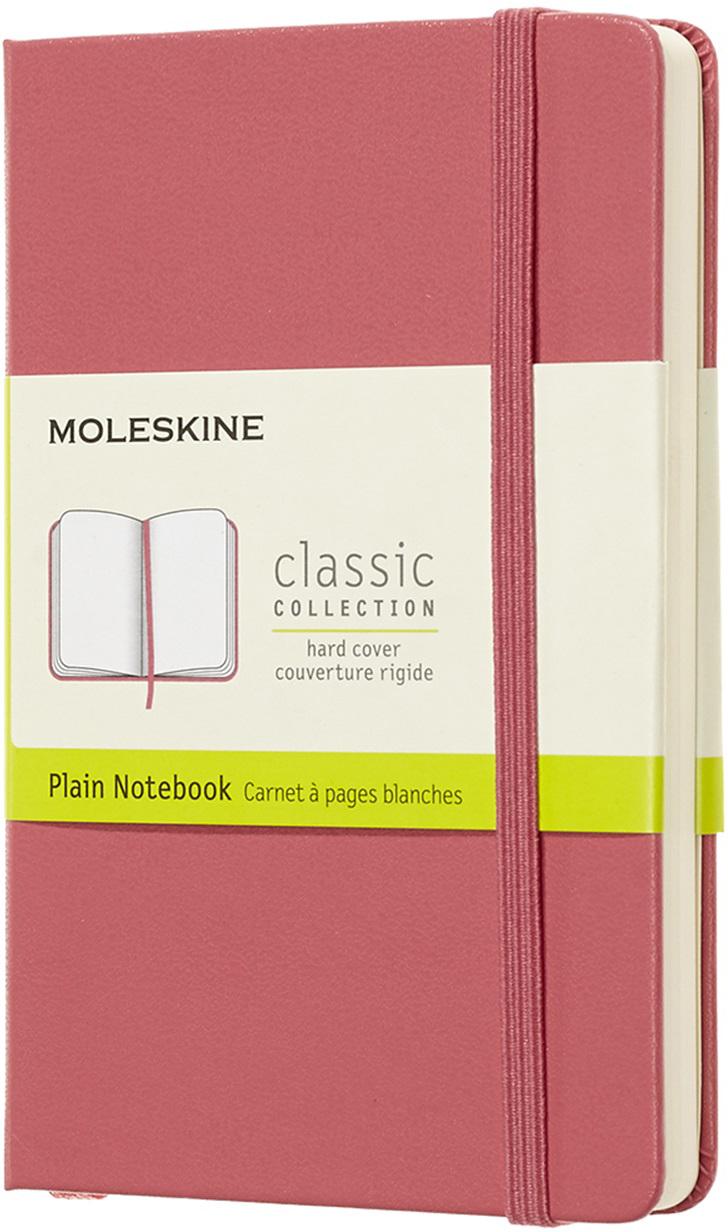 Moleskine Блокнот Classic Pocket 9 x 14 см 96 листов нелинованный цвет розовый