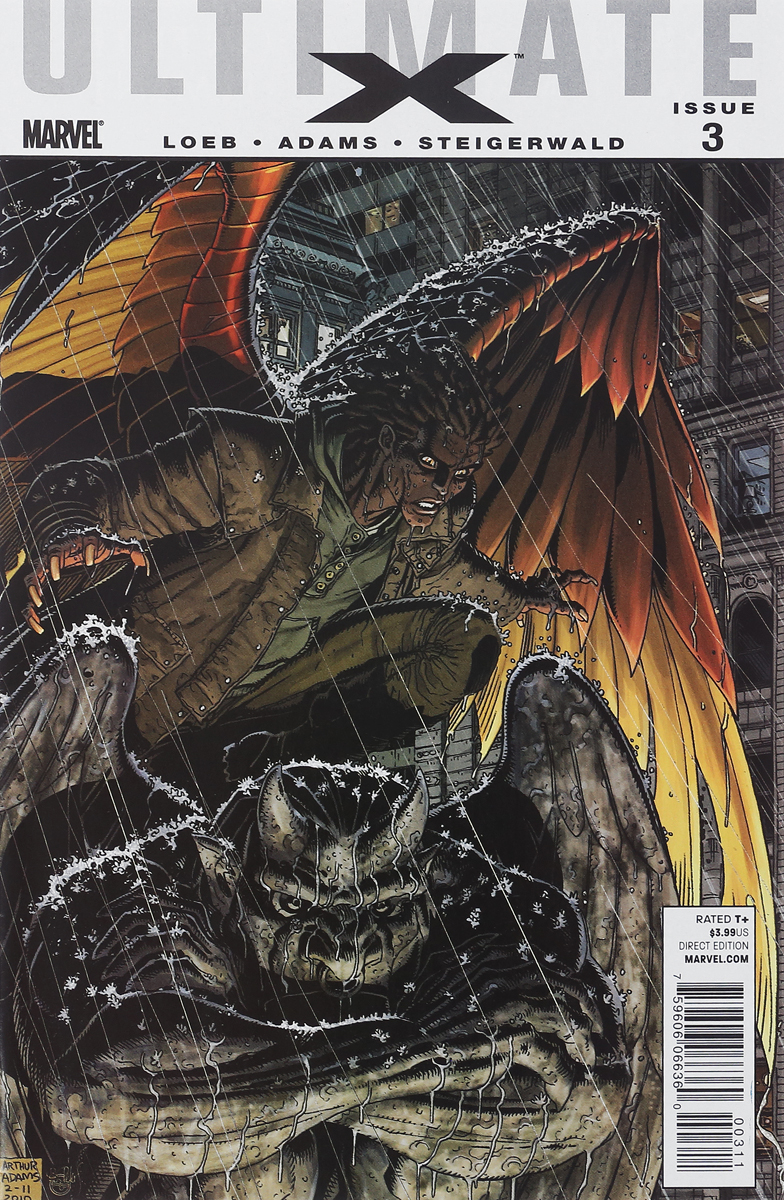 Jeph Loeb, Arthur (Art) Adams, Peter Steigerwald Ultimate X #3 loeb jeph ultimate comics new ultimates