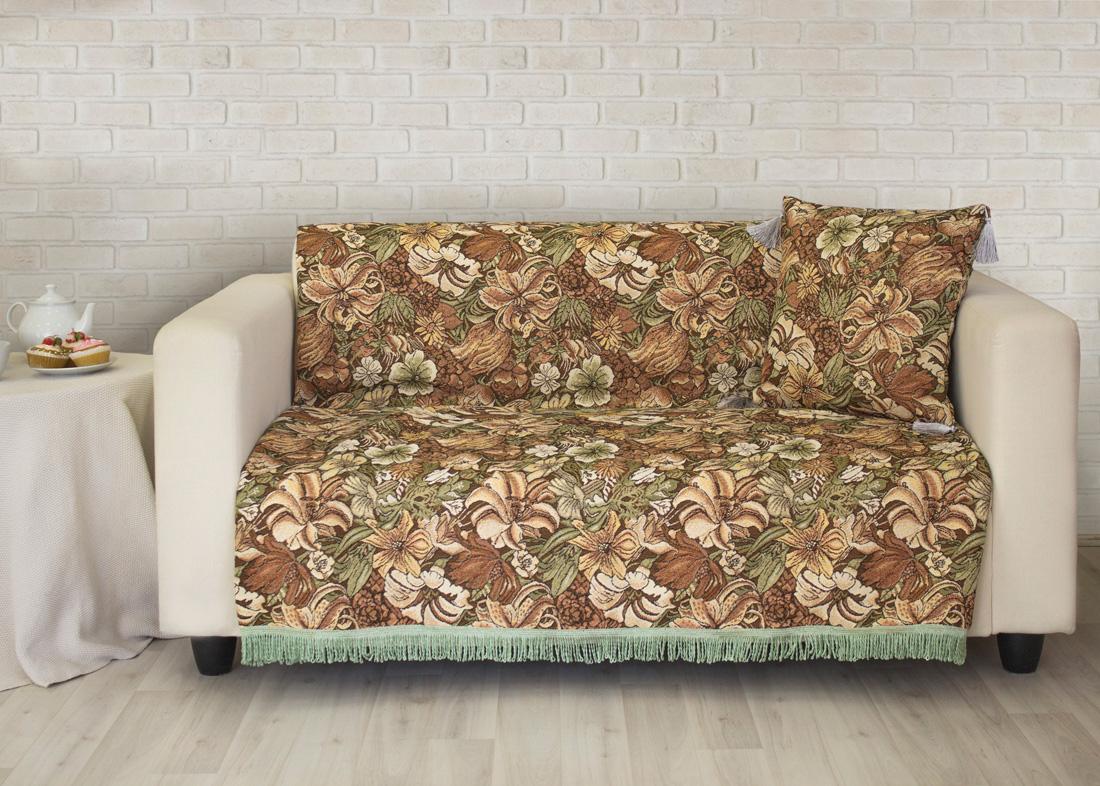 """Покрывало на диван Les Gobelins """"Art Nouveau Lily"""", 160 х 230 см"""